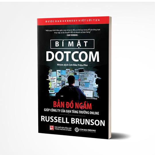 """Cuốn sách """"Bí mật Dotcom"""" ẩn giấu những bí mật marketing online"""