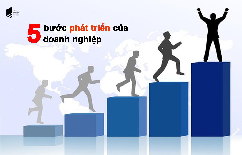 5 bước phát triển của một doanh nghiệp
