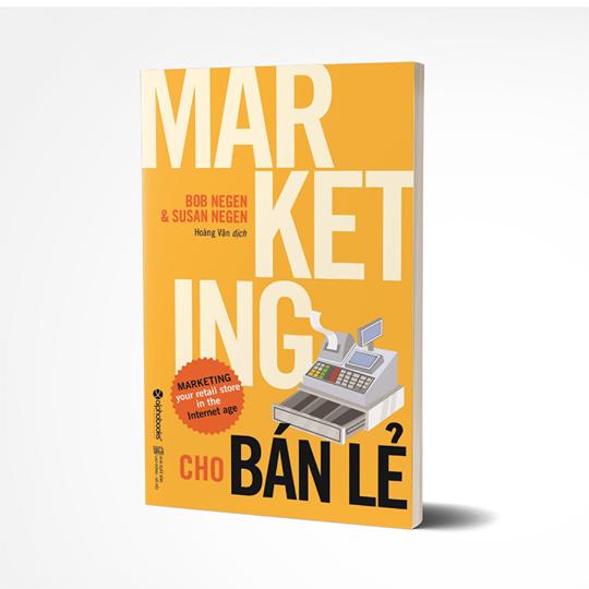 """Hình ảnh cuốn sách """"Marketing cho bán lẻ"""" tái bản mới nhất"""