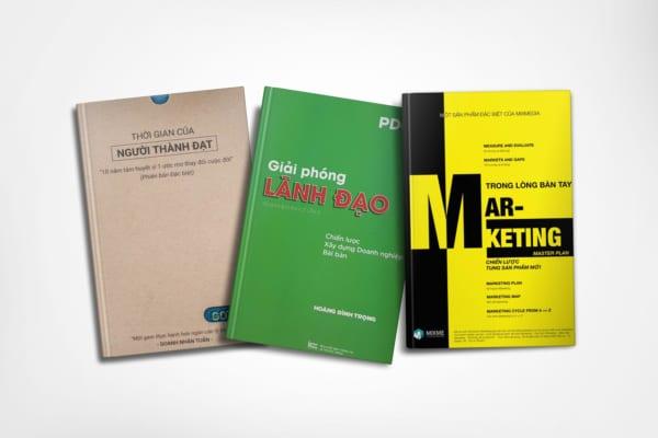 Tủ Sách CEO - Combo Sách Giải Phóng Lãnh Đạo + Sổ Tay Gotino + WorkBook Marketing Trong Lòng Bàn Tay