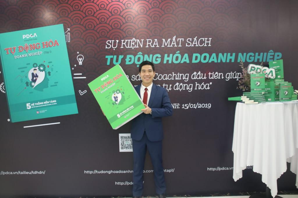 Sách Tự Động Hóa Doanh Nghiệp - Review Hoàng Đình Trọng