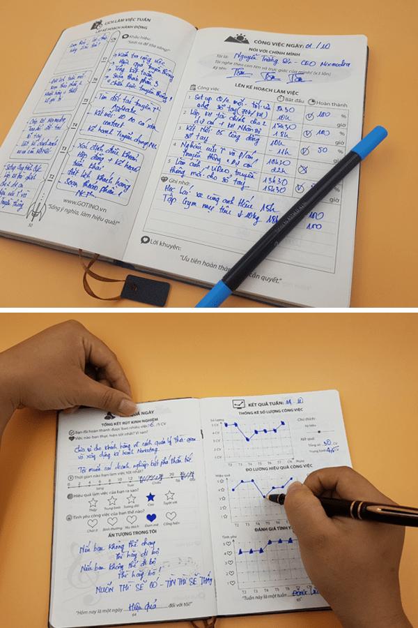 Sổ Tay Gotino - 5 việc mỗi ngày