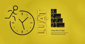 Quy Luật 4 Giây - 2 Phút - 72 Giờ -21 Ngày