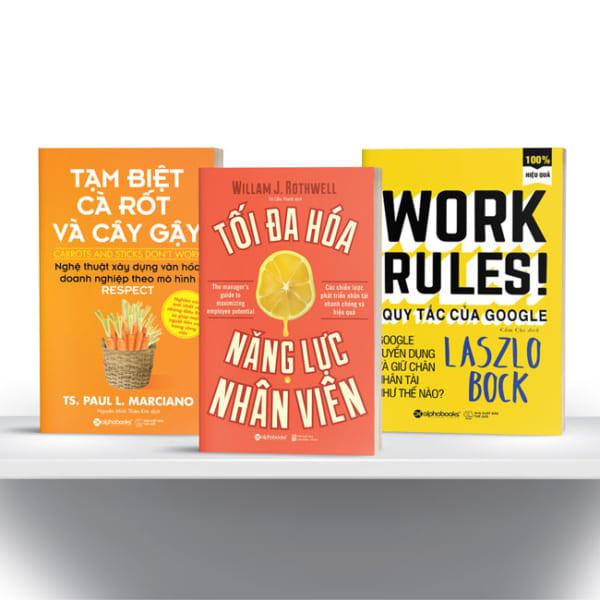 Tủ Sách CEO - Combo Sách Chiến Lược Nhân Sự