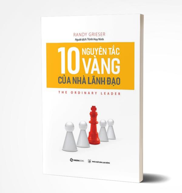 Mua sách 10 nguyên tắc vàng cho nhà lãnh đạo