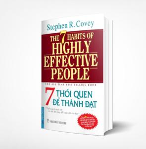 sách 7 thói quen để thành đạt