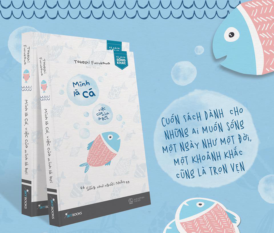 Tủ Sách CEO - Sách Mình Là Cá Việc Của Mình Là Bơi